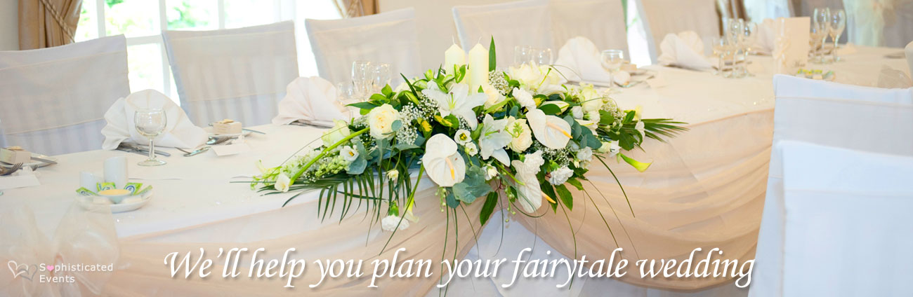 We'll help you plan your wedding...