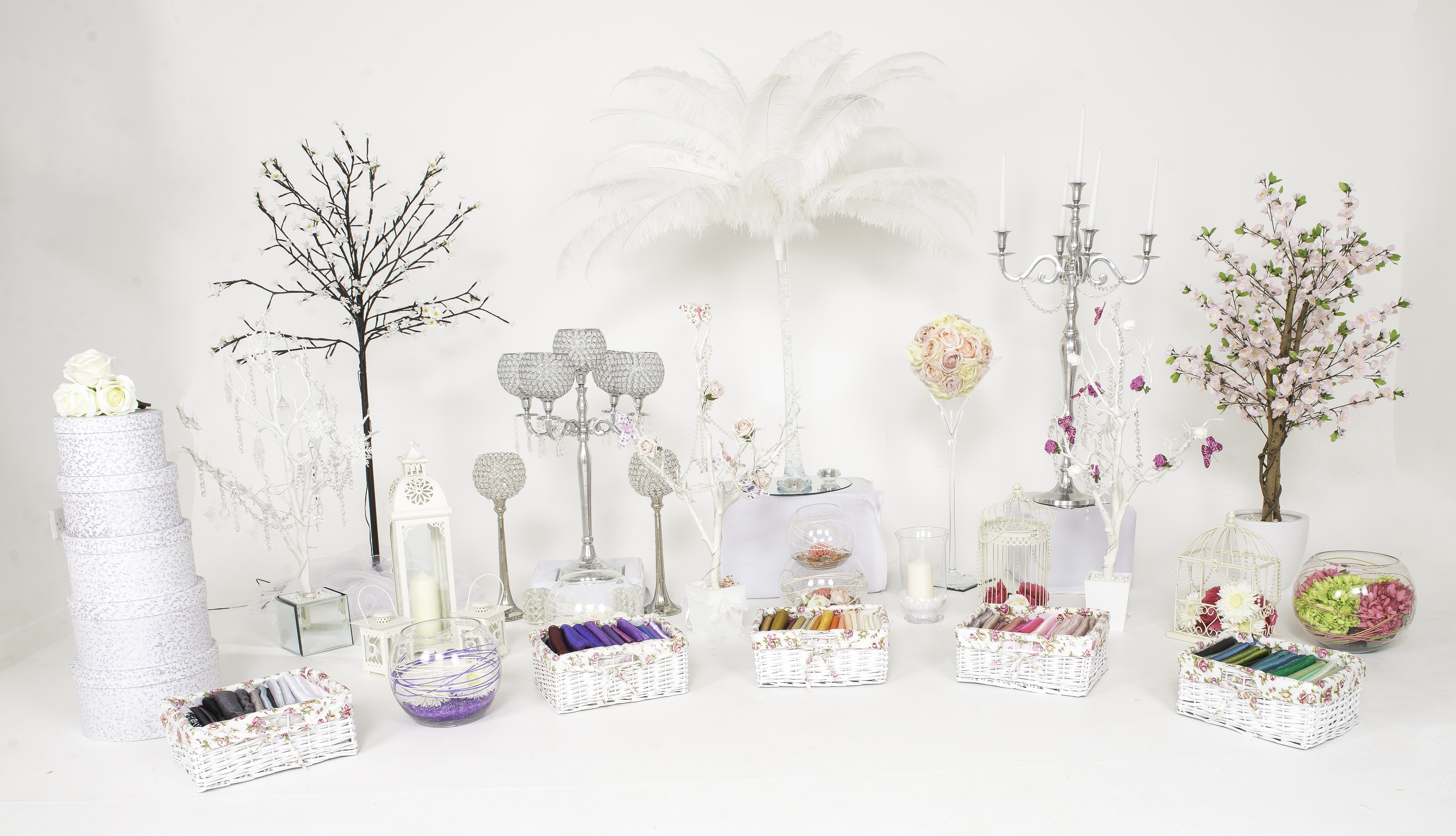 Sophisticated Events wedding centrepeices and styling accessories