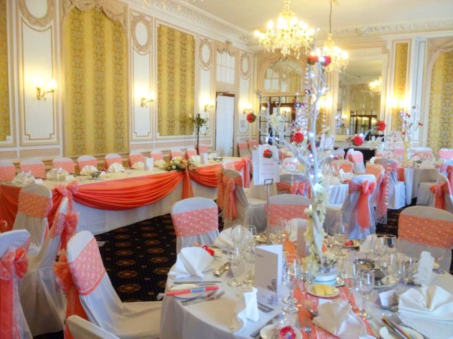 Crystal Tree table centrepiece at The Imperial Hotel Blackpool