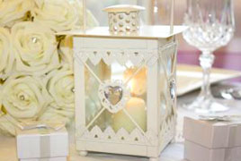 Table centrepieces, venue decorations & wedding accessories