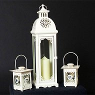 Aisle And Table Lanterns With Candle