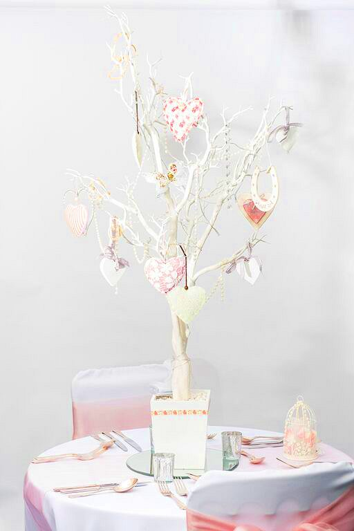 White Manzanita Crystal Tree